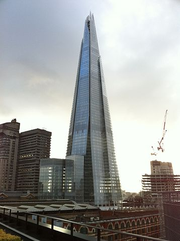 The Shard, completed in may 2012.