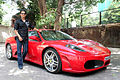 Sharman Joshi promotes 'Ferrari Ki Sawaari' at IIFA 2012 04.jpg