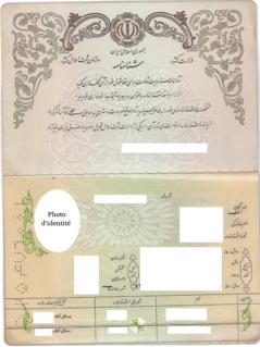 Identity documents in Iran General list of Iranian identity documents
