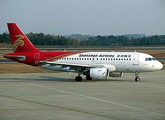 Shenzhen Airlines - Shenzhen Airlines Airbus A319