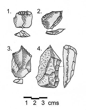 Hermel - Image: Shepherd Neolithic flint tools