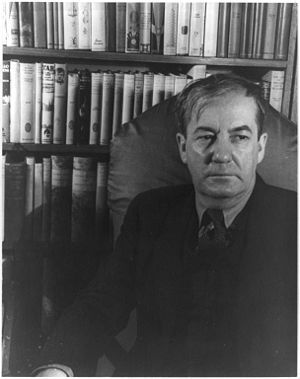 Photo of author Sherwood Anderson.