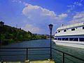 Ship Restaurant on the Mladost lake , Veles.jpg