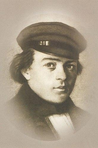 Grigory Sedov - Grigory Sedov; portrait by Ivan Shishkin (1859)
