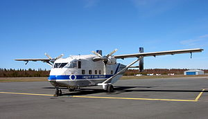 Short SC.7 Skyvan - SC.7 Skyvan at Oulu Airport