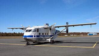 Short SC.7 Skyvan - SC.7 Skyvan at Oulu Airport