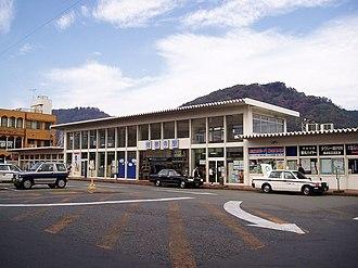 Izu, Shizuoka - Shuzenji train station