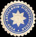Siegelmarke Fuss - Artillerie - Schiessschule W0215981.jpg