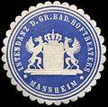 Siegelmarke Intendanz d. Gr. Bad. Hoftheaters Mannheim W0310384.jpg