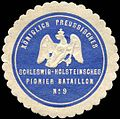 Siegelmarke Königlich Preussisches Schleswig - Holsteinsches Pionier Bataillon No. 9 W0223950.jpg
