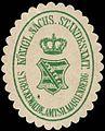 Siegelmarke Königlich Sächsische Standesamt - Streckewalde - Amtshauptmannschaft Marienberg W0239997.jpg