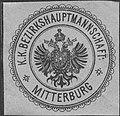 Siegelmarke K.K. Bezirkshauptmannschaft Mitterburg W0322969.jpg