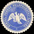 Siegelmarke K. Pr. Feldprobstei - Siegel W0238212.jpg