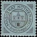 Siegelmarke Magistrat Köthen (Anhalt) W0393696.jpg