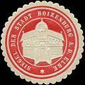 Siegelmarke Siegel der Stadt Boizenburg-Elbe W0345234.jpg