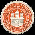 Siegelmarke Zentralbureau des Ingenieurwesens-Baudeputation Hamburg W0307671.jpg