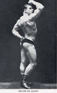 Siegmund Klein American bodybuilder and gymnasium owner