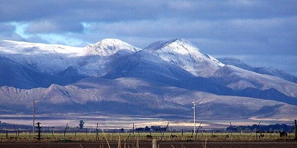 Sierra de la Ventana Ciudad Sierra de la Ventana Nevada