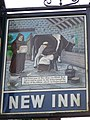 Sign for the New Inn - geograph.org.uk - 1114935.jpg