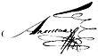 Signature de Alexandre IerАлександр I