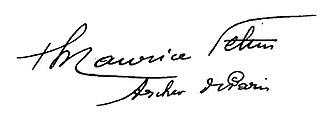 Maurice Feltin - Image: Signature de Maurice Feltin, archevêque de Paris 02