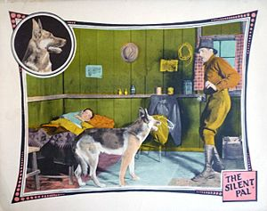 Colin Kenny (actor) - Colin Kenny at right in a lobby card from The Silent Pal (1925)