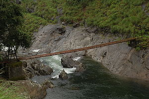Silent Valley National Park - Hanging Bridge across the Kuntipuzha River – Silent Valley National Park (SVNP)