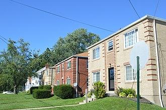Silverton, Ohio - Post-World War II housing on Silverton Avenue