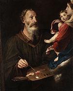 San Lucas retratando a la Virgen - Wikipedia, la enciclopedia libre