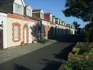 Cullercoats - Simpson Street, June 2001