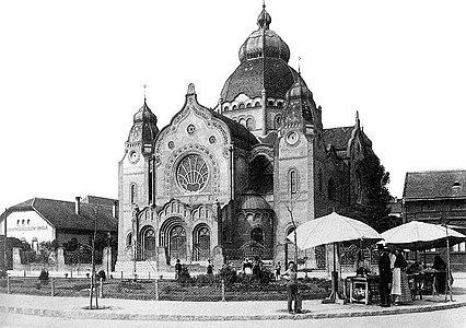 Sinagoga u Subotici, opšti izgled