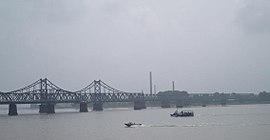 Sino-Korean Friendship Bridge across the Yalu.jpg