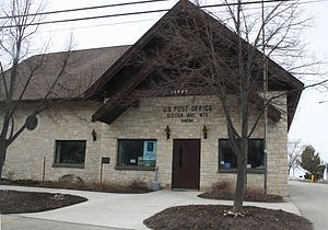 Sister Bay, Wisconsin - Image: Sister Bay Wisconsin Post Office