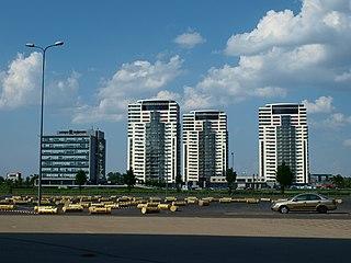 Skanste Neighborhood of Riga in Latvia