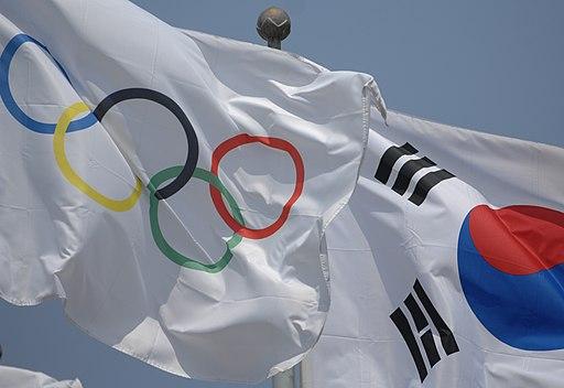 Skoreaandolympicflag