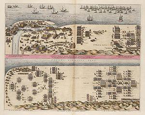 Battle of Nieuwpoort - Image: Slag bij Nieuwpoort (1600) 2 Fases