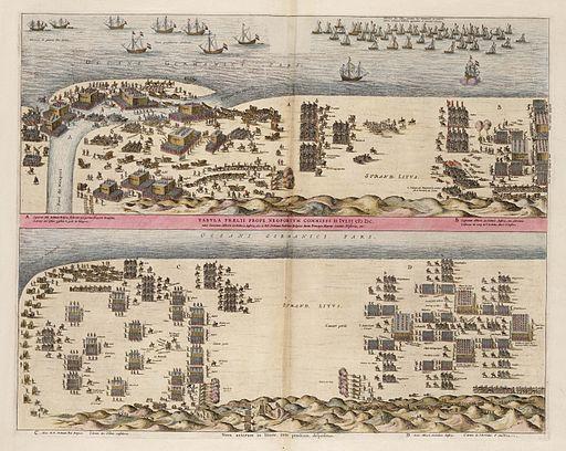 Slag bij Nieuwpoort (1600) - 2 Fases