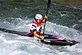 Slalom canoeing 2012 Olympics W K1 GBR Lizzie Neave (2).jpg