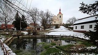 Sluštice Municipality in Central Bohemian, Czech Republic