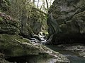 Small gorge on the river Sychryd - geograph.org.uk - 2906657.jpg