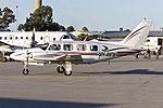 Smart Air (VH-AWW) Piper PA-31-310 Navajo taxiing at Wagga Wagga Airport.jpg