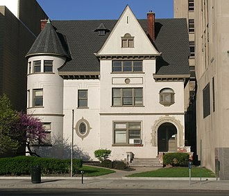 University-Cultural Center Multiple Resource Area - Image: Smith House Detroit