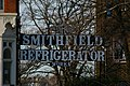 Smithfield Refrigerator Works sign, Cross Lane, Hornsey - geograph.org.uk - 363137.jpg