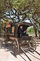 Snake-oil salesman Professor Thaddeus Schmidlap at Enchanted Springs Ranch, Boerne, Texas, USA 28651a.jpg
