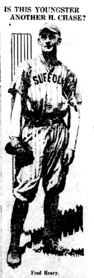 Snake Henry - Snake Henry with a minor league team, circa 1917.