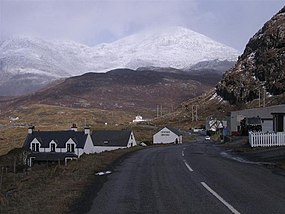 Snow-covered Clisham from Aird Asaig, North Harris - geograph.org.uk - 152892.jpg