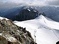 Snow on the Aiguille du Midi - panoramio.jpg