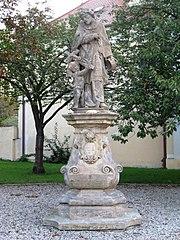 Socha svatého Jana Nepomuckého na náměstí T. G. Masaryka v Prostějově