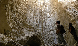 Mount Sodom - Salt cave in Mount Sodom