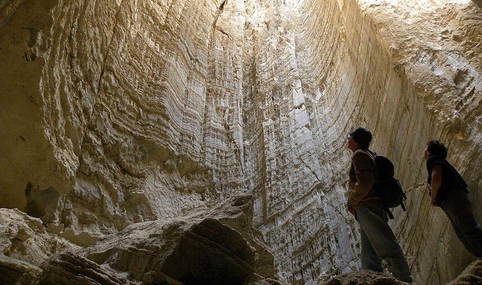 Sodom Salt Cave 031712